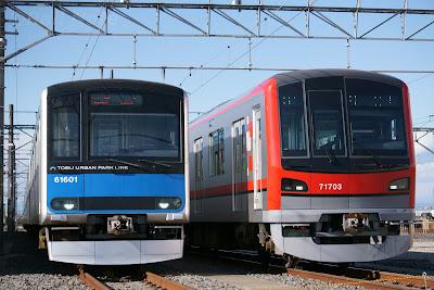 東武60000系と70000系