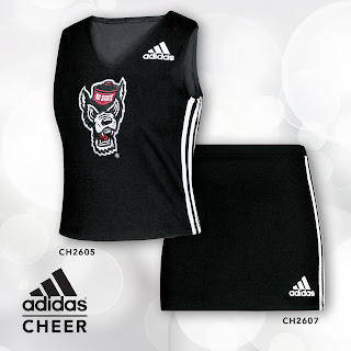 adidas cheer uniform style# 2605
