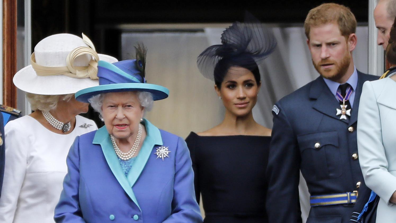 Harry and Meghan, Queen Elizabeth