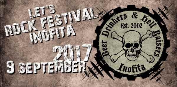 LET'S ROCK FESTIVAL 2017: Σάββατο 9 Σεπτεμβρίου @ Ανοιχτό Δημοτικό Θέατρο Οινοφύτων