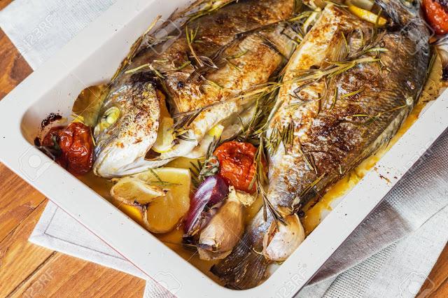 أفضل الوصفات لتحضير صينية سمك في الفرن