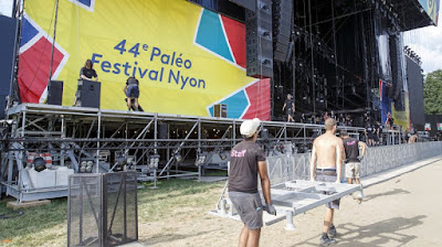 Nyon: Paléo Festival dans les starting-blocks avant les concerts