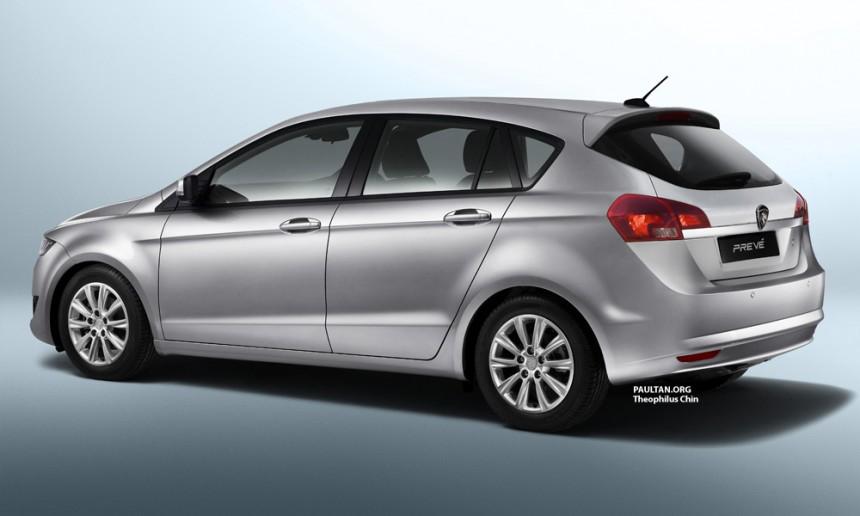 KelabProtonSaga now with DriveM7!: Proton Preve Hatchback??