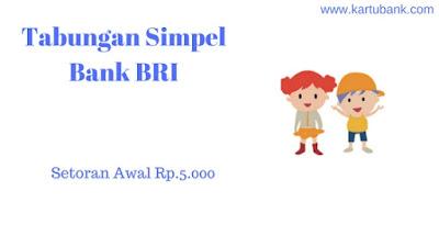 Tabungan anak dari Bank BRI