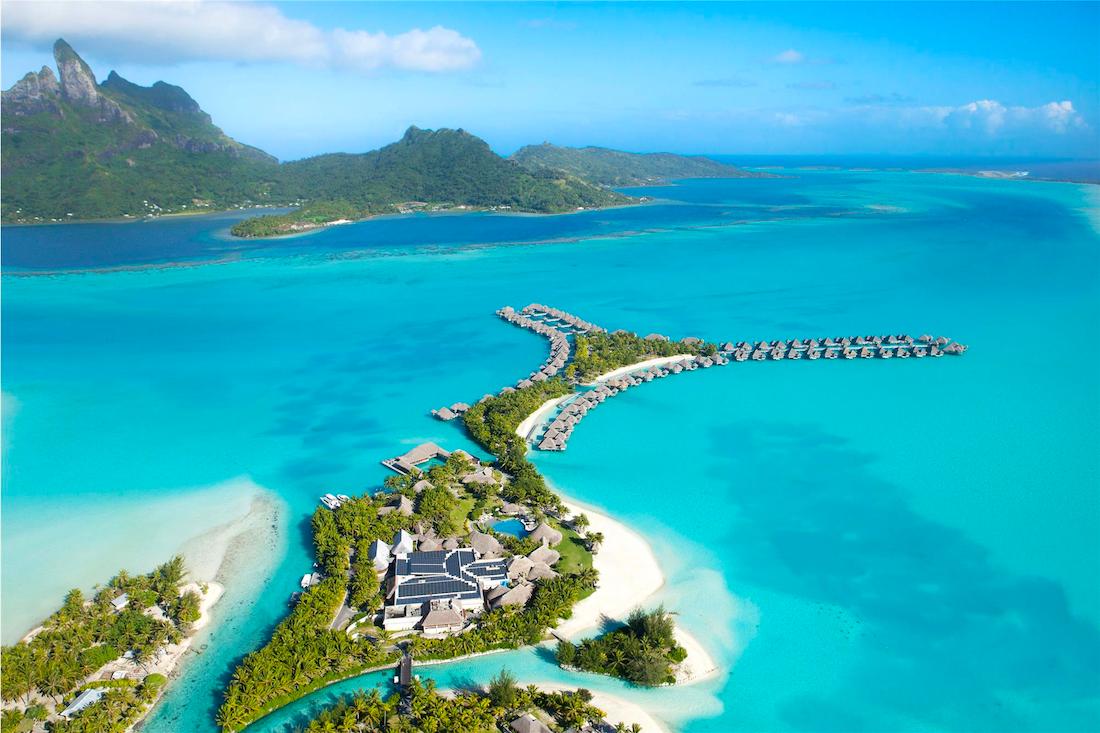 St. Regis Bora Bora Aerial