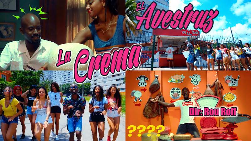 La Crema - ¨El Avestruz¨ - Videoclip - Dirección: Rou Roff. Portal Del Vídeo Clip Cubano