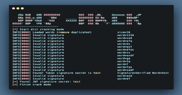 JWT-Hack : Hack the JWT(JSON Web Token)