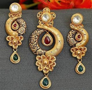 Gold Earrings latest Design Jewelry | Fdbnj