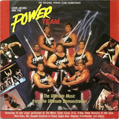 Power Team - Soundtrack (1990) | The King's Music Blog