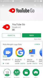 cara menyimpan video youtube hp android