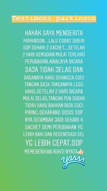Jual SOP Subarashi Gagal Ginjal - Obat Alami Penyakit Gula, Info di Sidenreng Rappang. SOP 100+ Bpom.