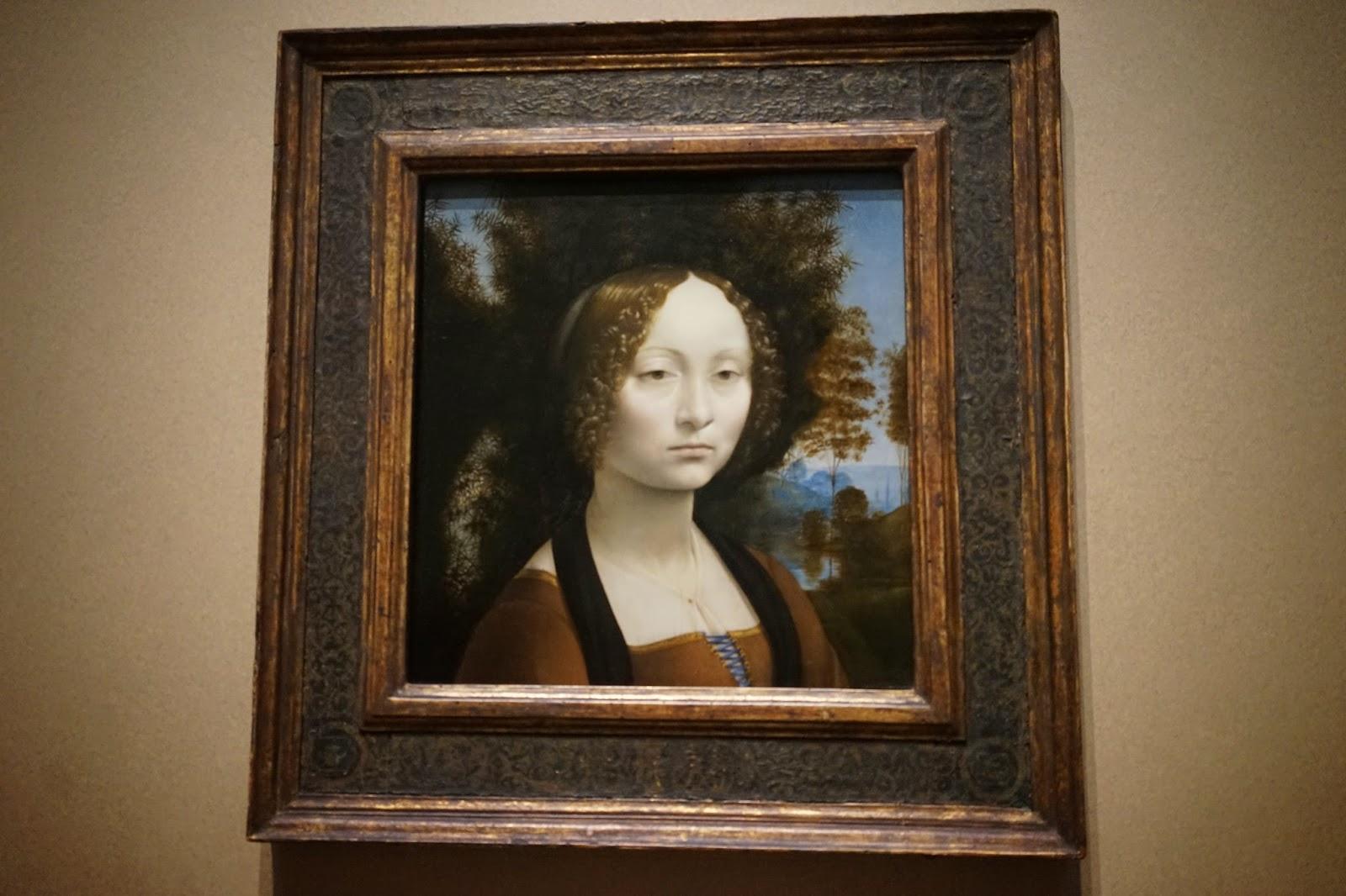 national gallery of art washington D.C Da Vinci