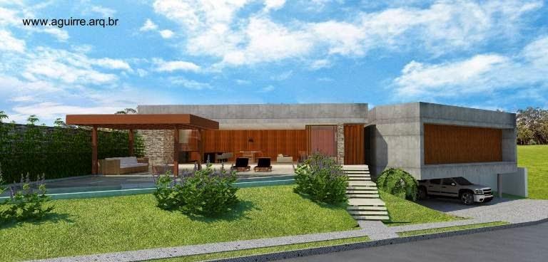 Casa residencial contemporánea en Gávea Paradiso - Uberlândia - MG 2014