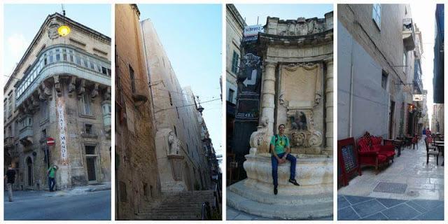 calles de la valeta Malta