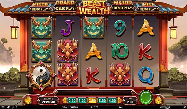 Main Gratis Slot Indonesia - Beast of Wealth (Play N GO)