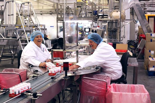 Saxa salt production