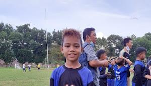 Hafiz Basuki Jadi Pemain Terbaik Usai Tim Panther Bahu FC Gasak Tim Bina Taruna Di Final U12