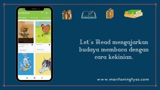 Let's Read tumbuhkan budaya membaca dengan cara kekinian