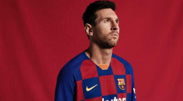 Jersey Baru Barcelona 2019 ala Timnas Kroasia