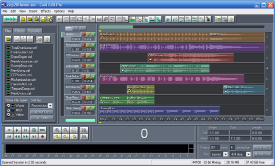 audio editing software for pc free download full version