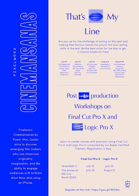 Pixelworkx Cinemansanas Poster