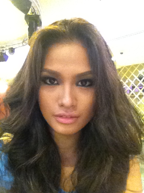 Janine Tugonon ready for Miss Universe 2012 beauty pageant
