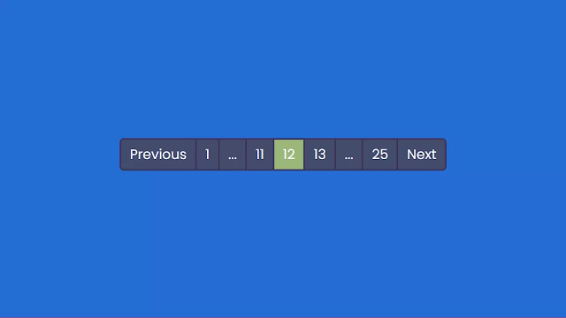 JavaScript Functional Pagination Design