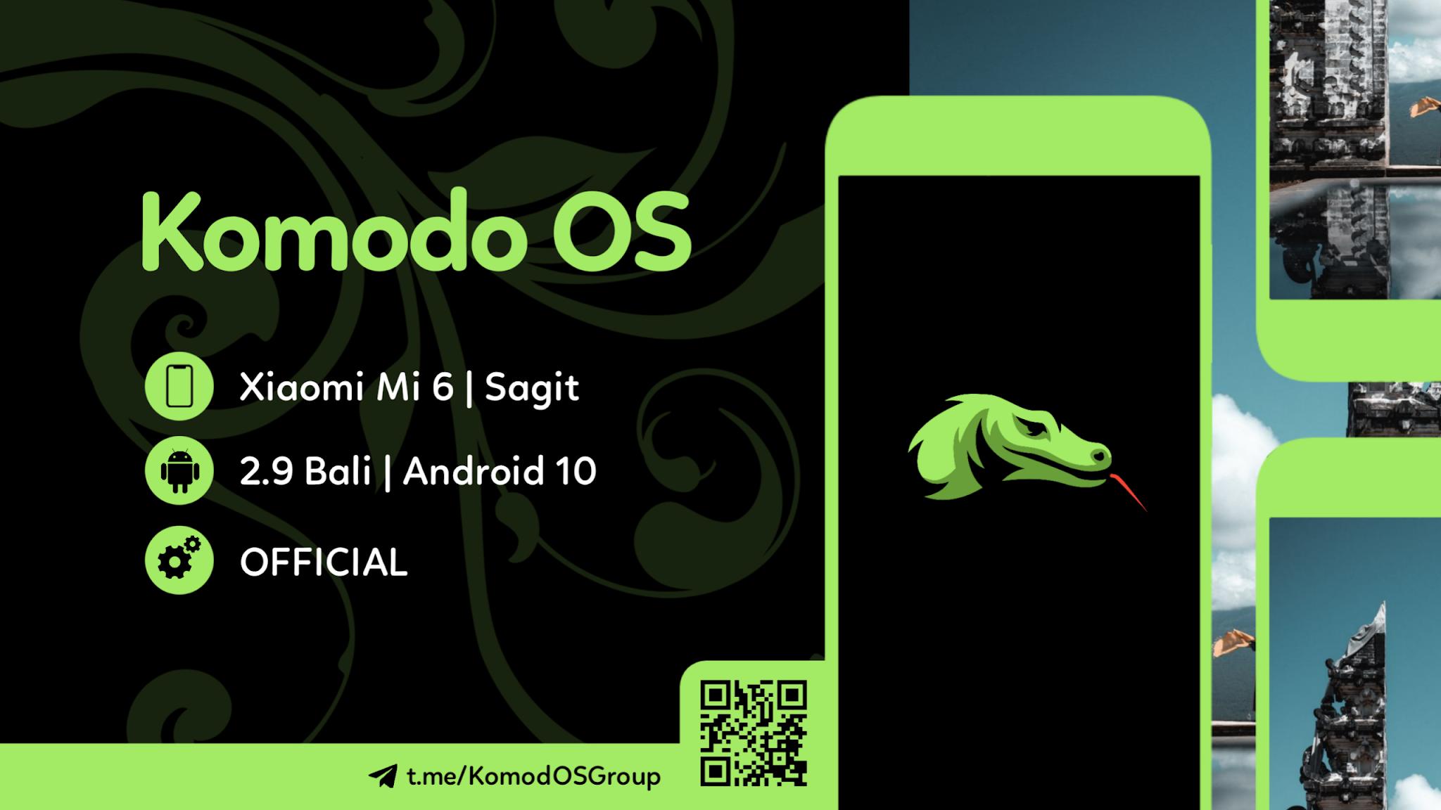 [ROM] Komodo OS v2.9 - Mi 6 [Sagit]