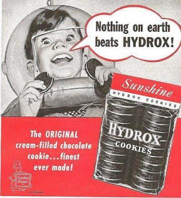 Hydrox Cookies - The original cream-filled chocolate cookie