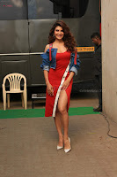 Jacqueline Fernandez Spicy Bollywood Actress in Red Dress Spicy  Exlcusive Gallery Pics (9).JPG