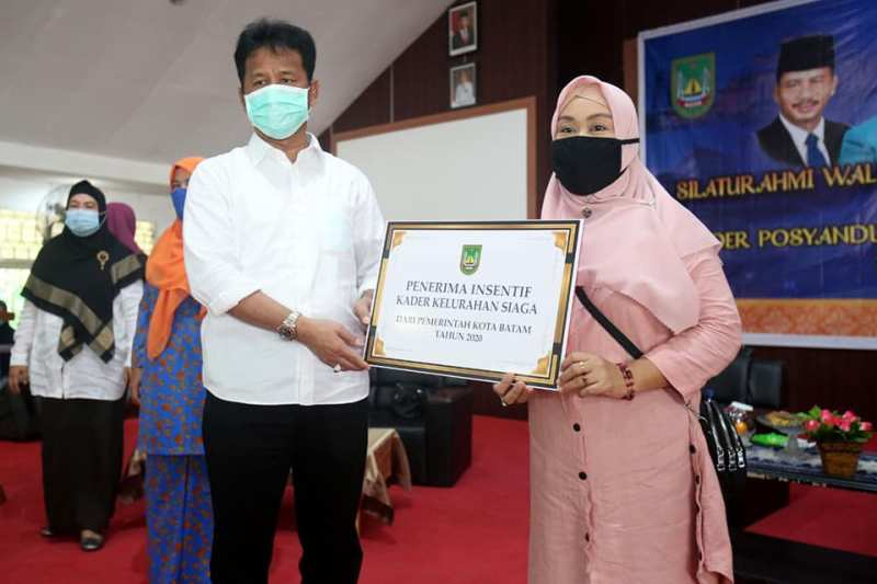 Pemko Batam Pastikan Tetap Perhatikan Insentif Kader Posyandu dan Kader Kelurahan Siaga