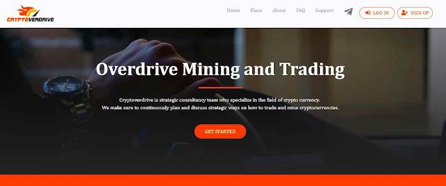 Cryptoverdrive.com - инвестиционный хайп проект о майнинг и криптовалютах