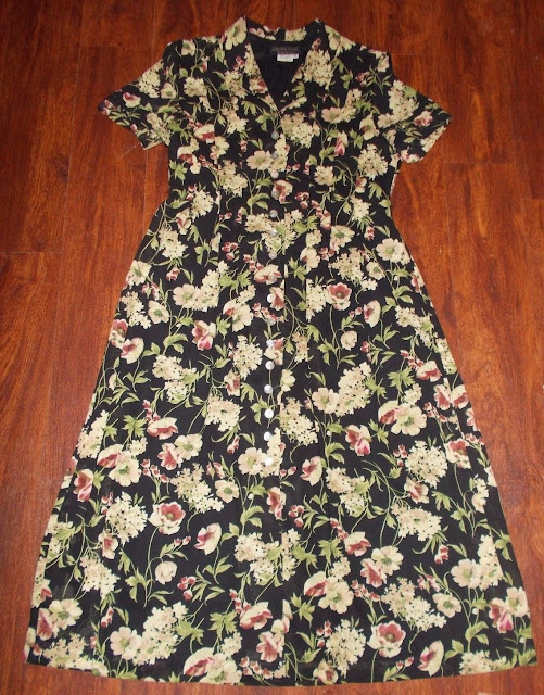 Women's Vintage Cynthia Howie Dress Floral