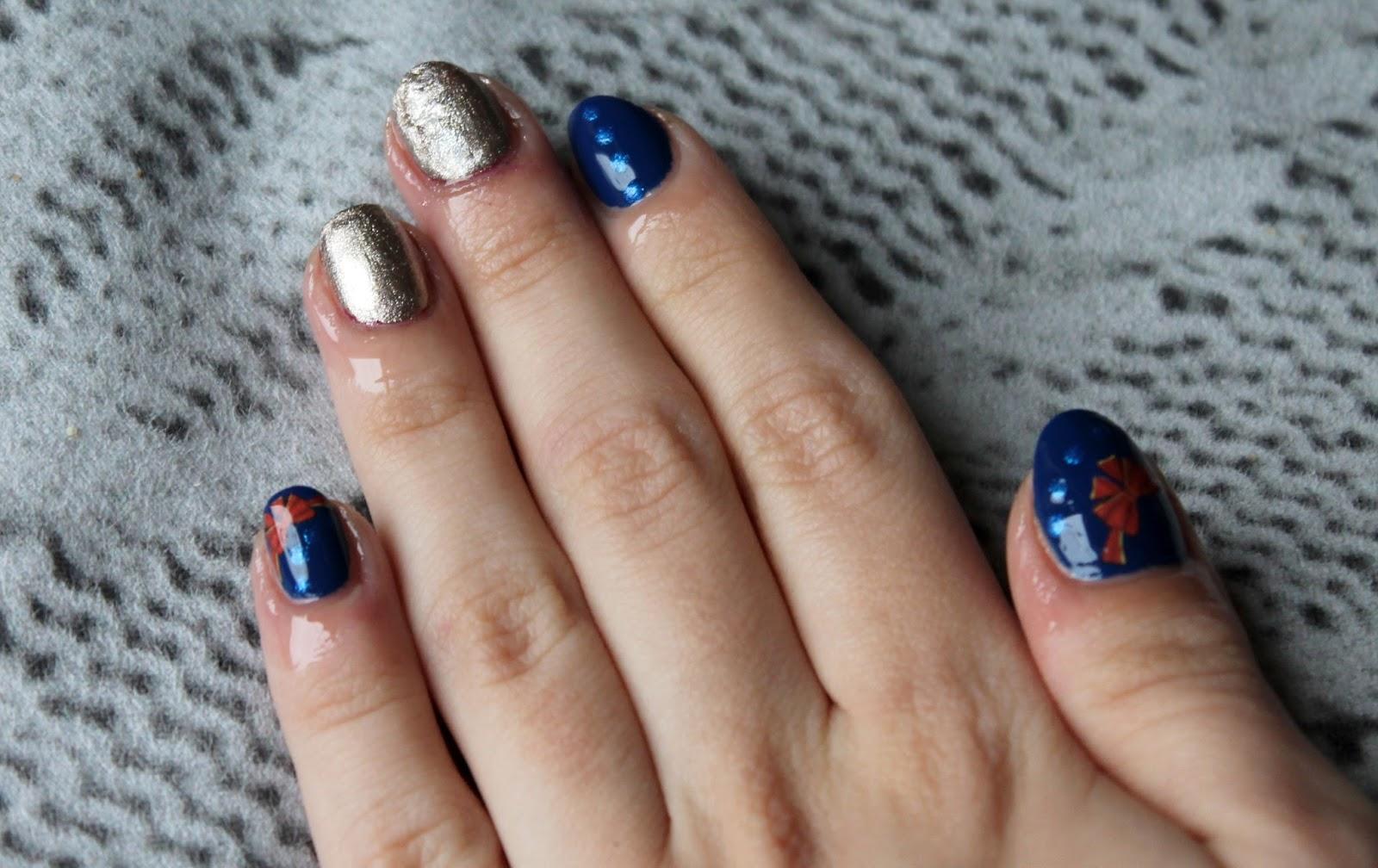 Ewelaina Nails 168 Przeglad Niebieskich Paznokci Reaktywacja