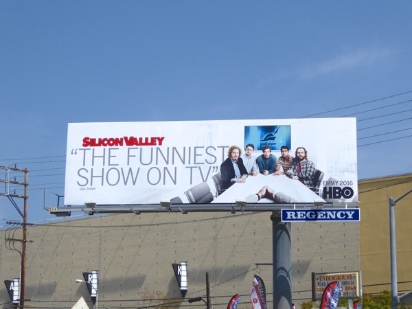 Silicon Valley season 3 HBO Emmy 2016 billboard