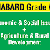 NABARD Fully Solved paper on Economic & Social Issue + Agriculture & Rural Development-Based on 2016 Paper