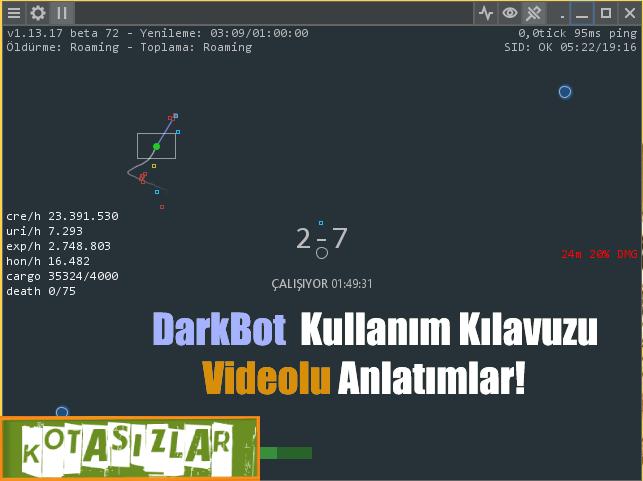 Darkorbit Bot DarkBot Videolu  Kullanım Kılavuzu 2021