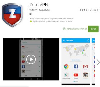Ulasan Secara Lengkap tentang Zero VPN