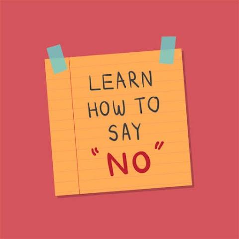 """Dizer """"não"""", porque sim"""