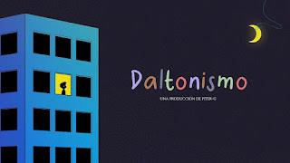 LETRA Daltonismo Piter-G