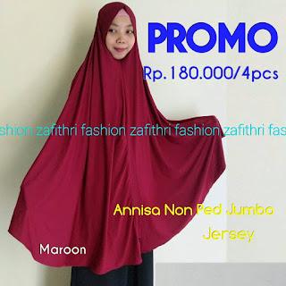 jilbab syar'i super jumbo bahan jersey