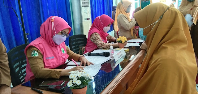 Ribuan Guru PAUD dan TK di Sinjai Divaksin Covid-19