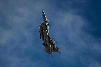 USAF F16 exercise Italian F35