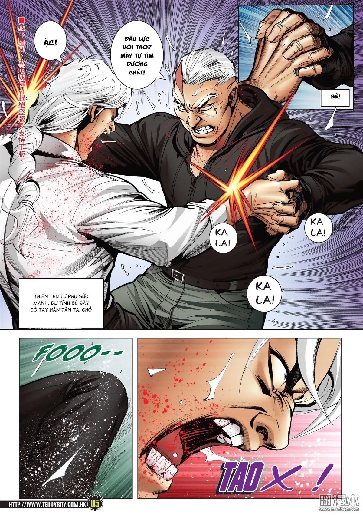 Người Trong Giang Hồ chapter 2052: hàn tân chiến thiên thu 3 trang 4