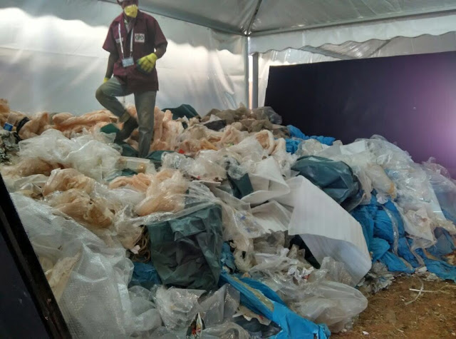 REDDONATURA MANAGES 40 TONNES OF WASTE AT AERO INDIA 2017
