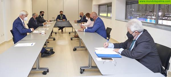 Los presidentes de los cabildos se reúnen en Fitur para fomentar Canarias como destino turístico seguro