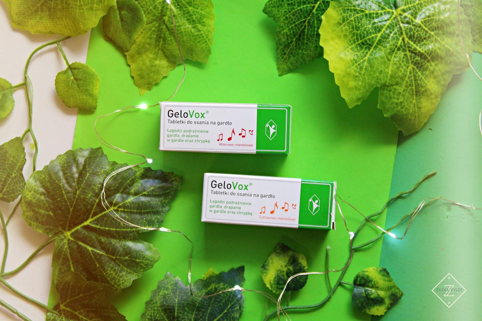 GeloVox - tabletki do ssania na gardło