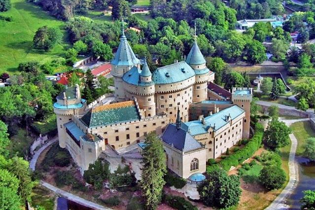 Castelo de Bojnice Eslováquia