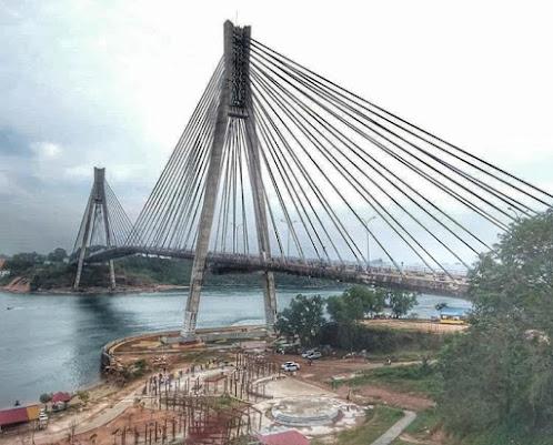 Jembatan Barelang wisata selain mangrove
