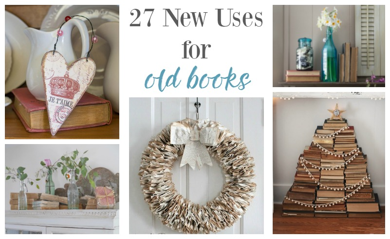 27 Genius Ways To Use Old Books Postcards From The Ridge